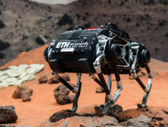 SpaceBok--专为太空探索设计的跳跃机器人