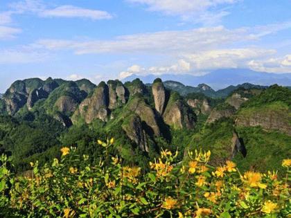 今天湖南第三届体育旅游节在崀山举行