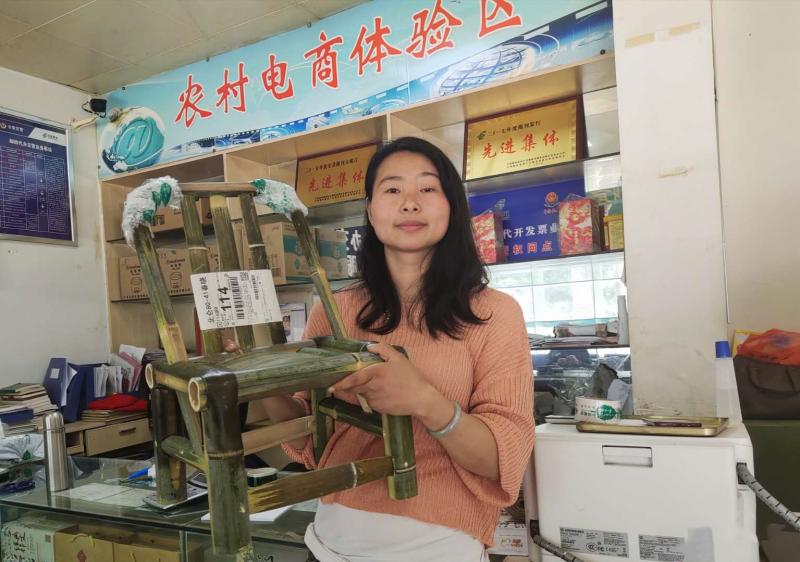 城步:让苗乡网红竹椅飞向全国