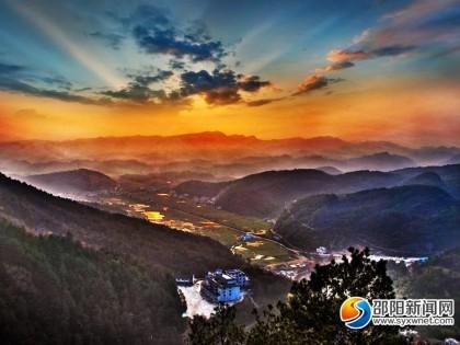 十一国庆来看看新邵白云岩景区有多美