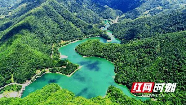 邵阳新宁县:紫溪河