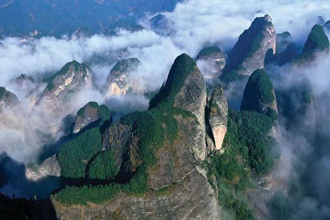 中国最美丹霞-崀山
