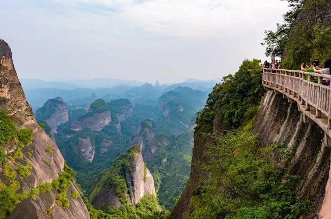 邵阳崀山,一座纯天然的丹霞地质博物馆。