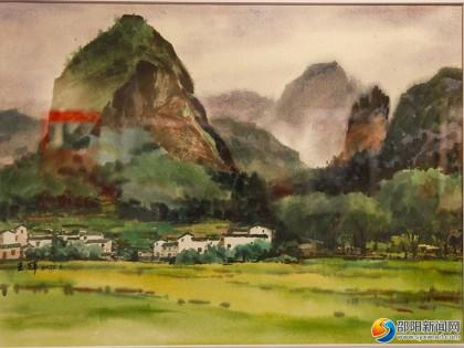 画说邵阳·庆祝中国共产党成立100周年全国美术作品展开幕