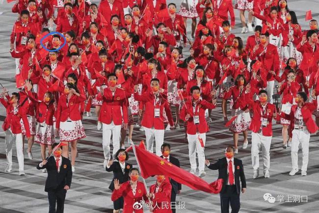 东京奥运会中国出场